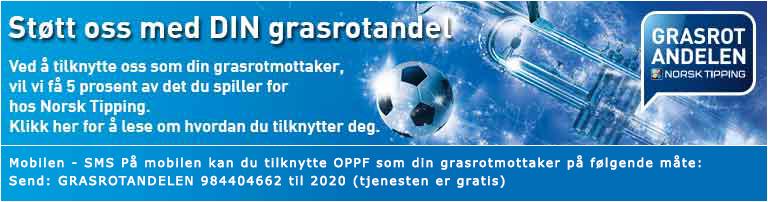 OPPF-grasrotandelen